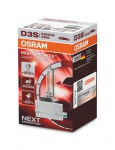Ксеноновая лампа D3S Ксенарк Night Breaker Laser +200% 35W 66340XNL Osram