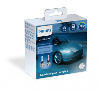 Светодиод H1 Ultinon Essential LED 6500K 11258UE2X2 PHILIPS