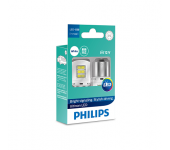 Светодиод 12V  P21W (BA15S) LED WHITE ULW (2шт) 11498ULWX2 PHILIPS