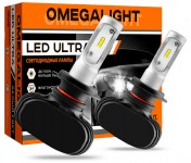 Лампа LED Omegalight Ultra H8/H9/H11 6000К, 4500lm (2шт)