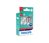 Светодиод 12V  P21W (BA15S) LED RED ULW (2шт) 11498ULRX2 PHILIPS