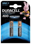 Батарейка Ultra Power  LR03/AAA упак. 2шт.  Duracell