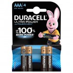 Батарейка Ultra Power  LR03/AAA упак. 4 шт.  Duracell