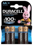 Батарейка Ultra Power  LR06/AA упак. 4 шт.  Duracell
